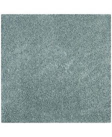 "Athens Sea foam 6'7"" x 6'7"" Square Area Rug"