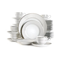 Deals on Mikasa Parchment 40-Pc. Service for 8