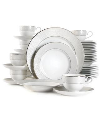 main image  sc 1 st  Macyu0027s & Mikasa Parchment 40-Pc. Service for 8 - Fine China - Macyu0027s