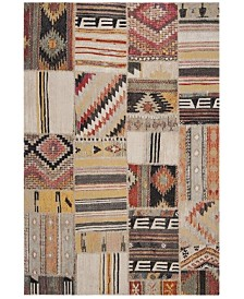 """Safavieh Montage Taupe and Multi 2'3"""" x 8' Runner Area Rug"""