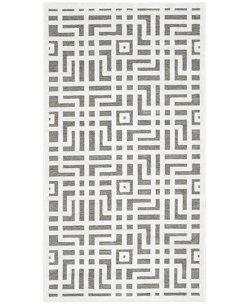 Safavieh Paradise Ivory and Dark Gray 3' x 5' Area Rug