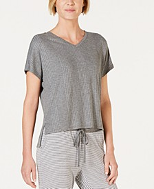 Super Soft Ribbed Pajama Top, Created for Macy's