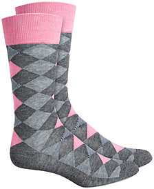 Alfani Men's Argyle Socks, Created for Macy's