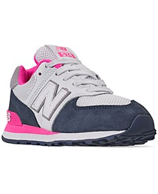Girls' 574 Casual Sneakers from Finish Line