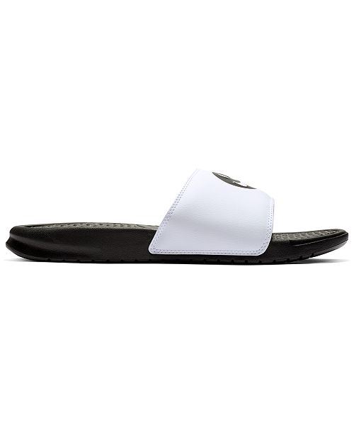 917447ab1e4b Nike Men s Benassi JDI Print Slide Sandals from Finish Line ...
