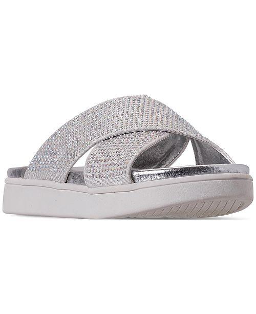 Steve Madden Little Girls' JFIERY Slide Sandals from Finish Line