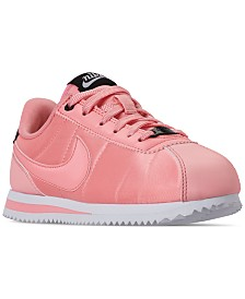 Nike Girls' Cortez Basic Textile Valentine's Day Casual Sneakers from Finish Line