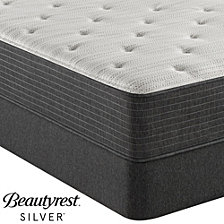 "Beautyrest Silver BRS900-TSS 12"" Medium Firm Mattress Set - Queen with Adjustable Base, Created For Macy's"
