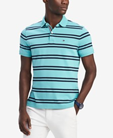 Tommy Hilfiger Men's Classic Fit Double Stripe Polo, Created for Macy's