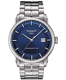 Tissot Men's Swiss Automatic T-Classic Luxury Stainless Steel Bracelet Watch 41mm