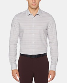 Perry Ellis Men's Stripe Shirt