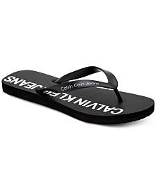 Calvin Klein Men's Errol Flip-Flop Sandals