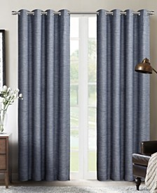 "Sun+Block Blackout Grommet Curtain Panel Pair 52""x84"""