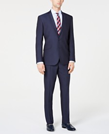 Kenneth Cole Reaction Men's Slim-Fit Techni-Cole Stretch Micro-Dot Suit