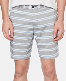 "Original Penguin Men's 8"" Stripe Shorts"