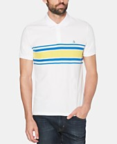 78e7bac9686 Original Penguin Men's Engineered Rugby Stripe Piqué Polo