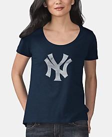 Touch by Alyssa Milano Women's New York Yankees Big Hitter T-Shirt