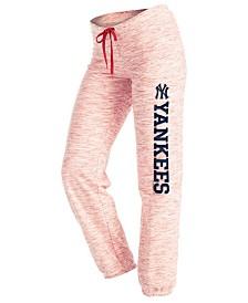 '47 Brand Women's New York Yankees Space Dye Capri Pants