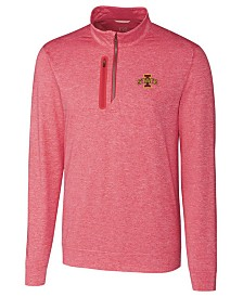 Cutter & Buck Men's Iowa State Cyclones Stealth Quarter-Zip Pullover