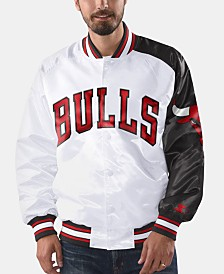 G-III Sports Men's Chicago Bulls Dugout Opening Day Satin Jacket