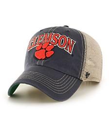 '47 Brand Clemson Tigers Tuscaloosa Mesh CLEAN UP Cap