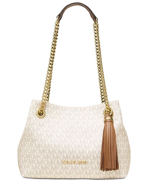 Michael Kors Signature Jet Set Chain Shoulder Bag
