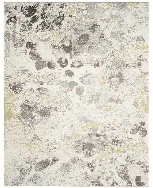 Safavieh Watercolor Ivory and Gray 8' x 10' Area Rug