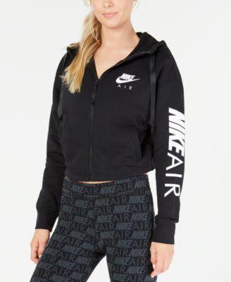b62f826e00ca Nike Air Womens Fleece Zip Hoodie & Ankle Leggings & Reviews ...