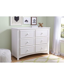 Children 6 Drawer Dresser, Quick Ship