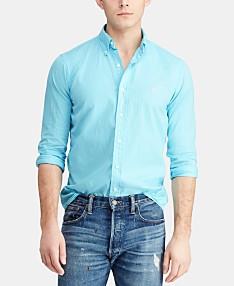 5184840f Polo Ralph Lauren Men's Big & Tall Classic Fit Twill Shirt