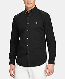 Polo Ralph Lauren Men's Big & Tall Classic Fit Twill  Shirt