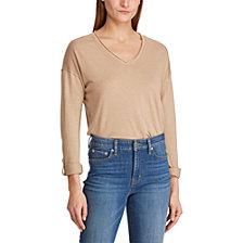 Lauren Ralph Lauren Roll-Sleeve Sweater
