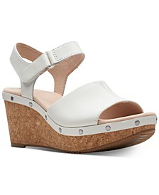 Collection Women's Annadel Clover Wedge Sandals