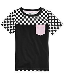 Epic Threads Toddler Boys Colorblocked Checker Pocket T-Shirt, Created for Macy's