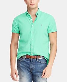 Polo Ralph Lauren Men's Big & Tall Classic Fit Twill  Shirt