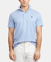 2d8bd37ca Polo Ralph Lauren Men's Classic- Fit Thin Striped Soft-Touch Polo