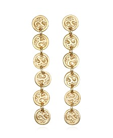 Capwell & Co. Coin Linear Earring