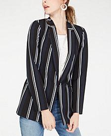I.N.C. Striped Blazer, Created for Macy's