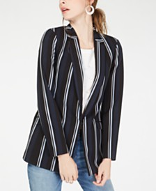 I.N.C. Striped Blazer, Created for Macy's