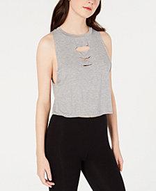 Material Girl Juniors' Slash Tank Top, Created for Macy's