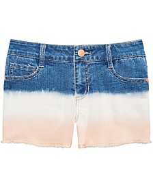 Epic Threads Big Girls Ombré Denim Shorts, Created for Macy's