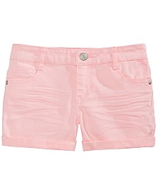 Epic Threads Big Girls Cuffed Hem Shorts, Created for Macy's