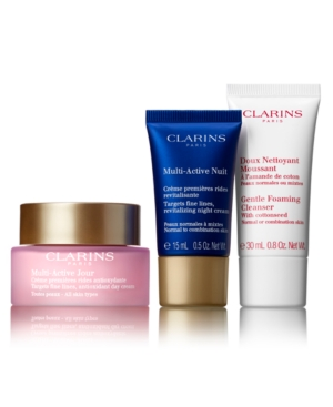Image of Clarins 3-Pc. Multi-Active Starter Set