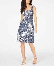Trina Trina Turk Lace A-Line Dress
