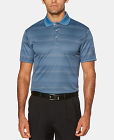 PGA TOUR Men's Striped Polo