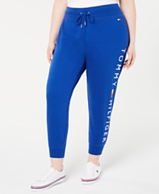 Tommy Hilfiger Sport Plus Size Logo Jogger Pants