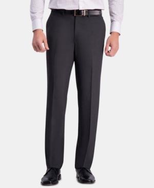 Men's Straight-Fit 4-Way Stretch Flat-Front Dress Pants