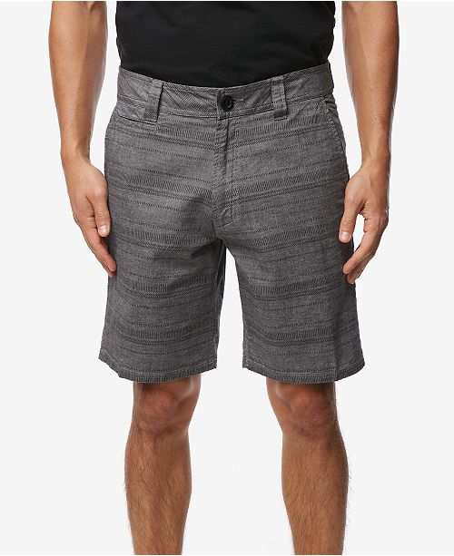 O'Neill Men's Bateman Stripe Chambray Shorts