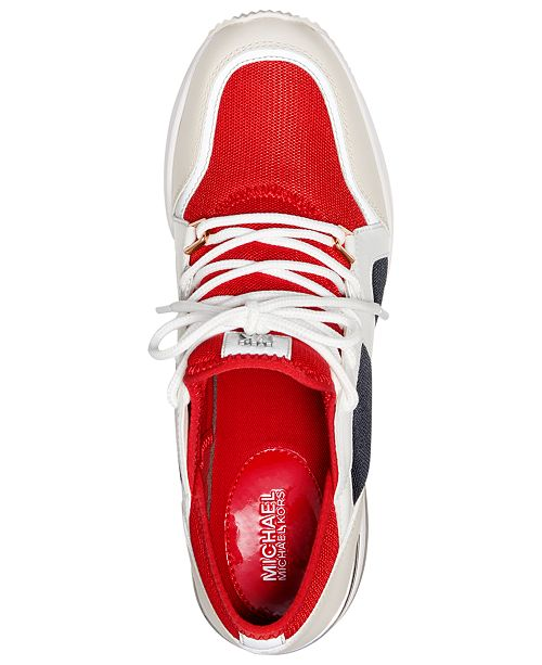 ad28223e2388 Michael Kors Liv Trainer Sneakers   Reviews - Sneakers - Shoes - Macy s