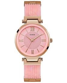 Women's Pink & Rose Gold-Tone Bracelet Watch 36mm